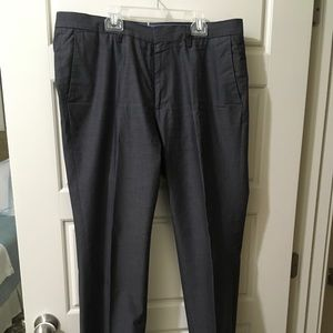 Bonobos Dress Trousers 34x32 Charcoal Gray